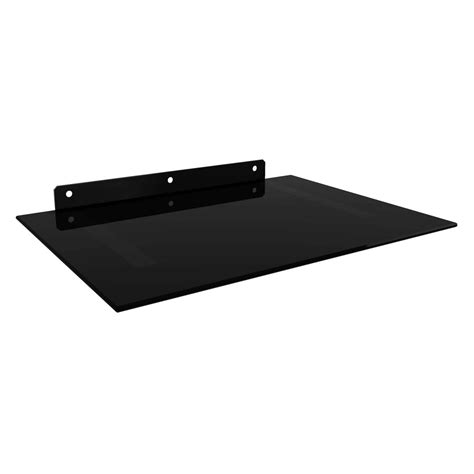 Hanging Component Shelf by Dvd Av Component Wall Mount Shelf Black