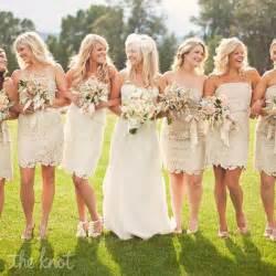 vintage lace bridesmaid dresses cherry marry