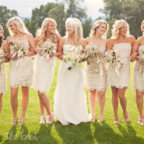 Lace Bridesmaid Dress by Vintage Lace Bridesmaid Dresses Cherry