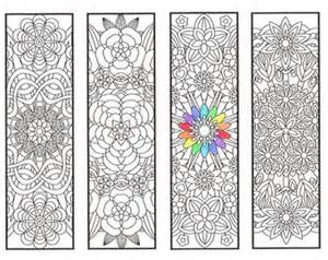 coloring bookmarks vajra mandalas page 2 coloring for