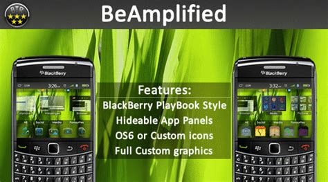 themes for blackberry playbook free beamplified for blackberry a playbook theme by bbthemes
