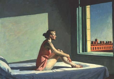 art hopper studies for morning sun by edward hopper 1952