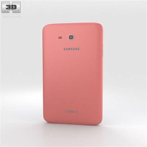 Samsung Tab 3 Pink samsung galaxy tab 3 lite pink 3d model hum3d