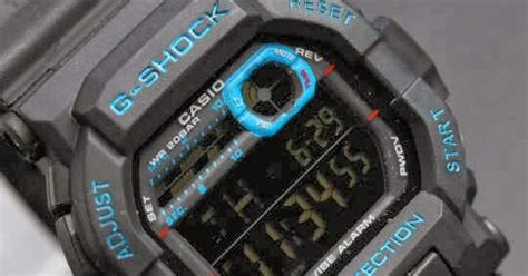 Jam G Shock Gd 350 Black Blue casio g shock kw g shock gd 350 layar negatif kw