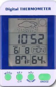 Termometer Cuaca digital thermometer station cuaca amt 110