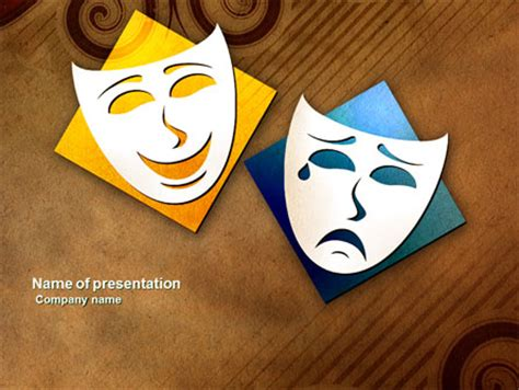 Drama Powerpoint Template Backgrounds 03957 Drama Powerpoint