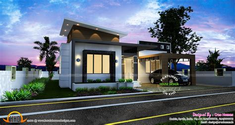 3 beautiful small house plans kerala home design and contemporary single floor home design kunts 3 beautiful small house plans kerala home design and