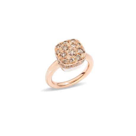 anello nudo di pomellato pomellato anello nudo with polignone