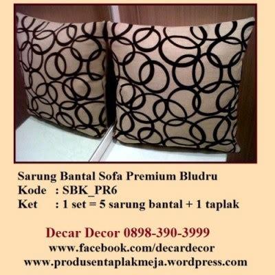 Bantal Kursi Sofa Mobil Tamu Set Duduk Lantai Murah sarung bantal lantai jual taplak meja dan sarung bantal sofa decar decor