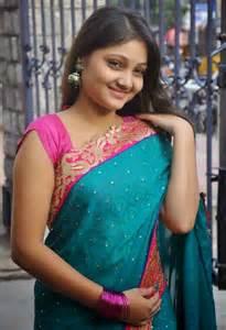 Telugu serial actress priyanka photos in saree 4