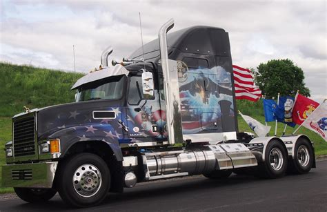 mack truck volvo mack honor service members with memorial day