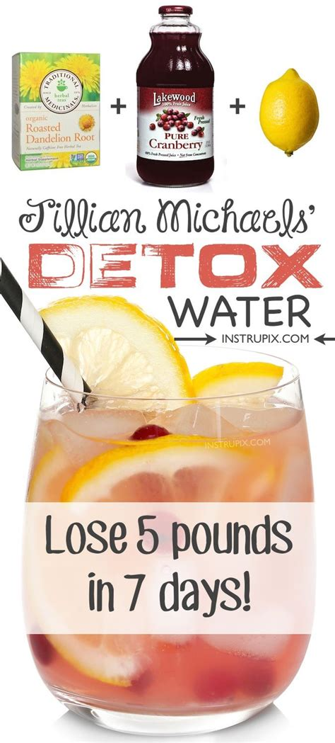 Detox Quickly by Detox Water Recipe To Lose Weight Fast 3 Ingredients