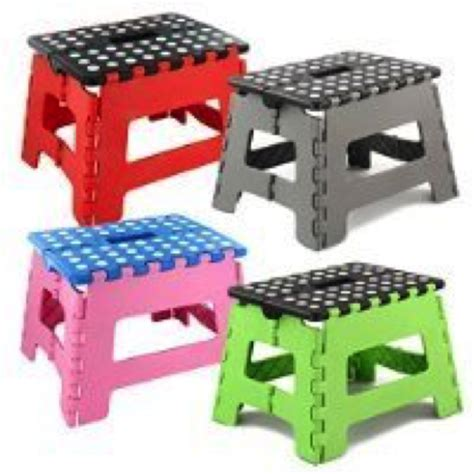 foldable step stool argos what types of steps are