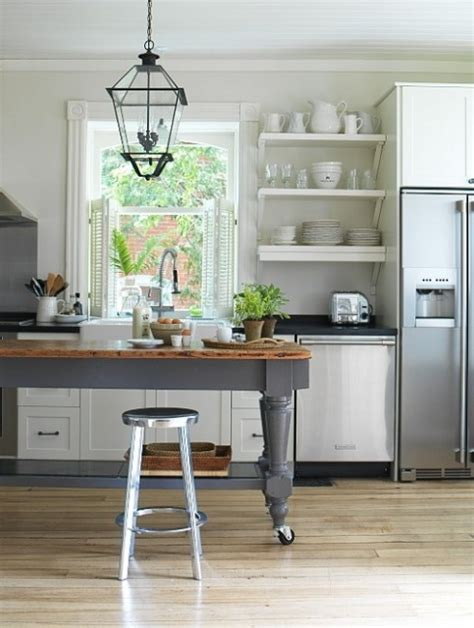 kitchen island table on wheels island on wheels kitchen love pinterest