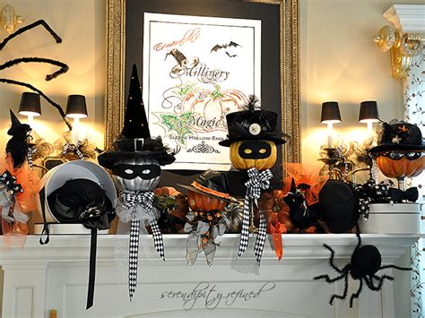september early fall mantel owl decor a pop of pretty 20 halloween mantels home stories a to z