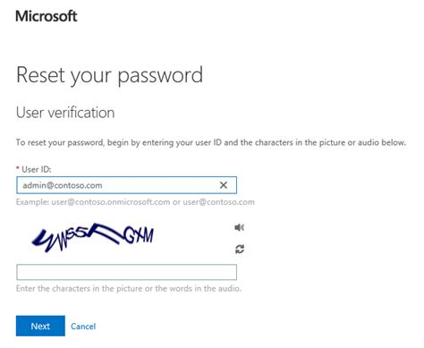Office 365 Portal Change User Password Sign In Page Branding And Cloud User Self Service Password