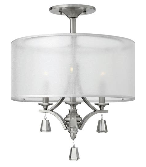 fredrick ramond fr45601bni brushed nickel 3 light 1 tier