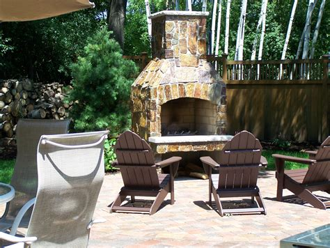 custom outdoor fireplaces and pits great goats landscapinggreat goats landscaping