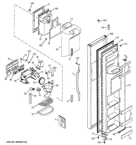 hotpoint refrigerator parts model hssifmcww sears