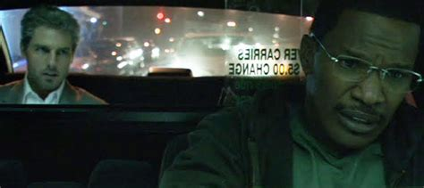 film tom cruise and jamie foxx collateral review cruise foxx star in taxi thriller
