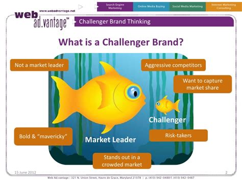 brand challenger how to be a challenger brand