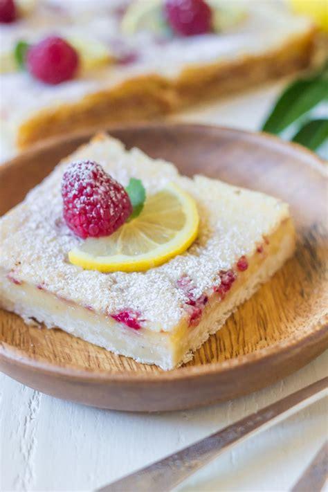 Raspberry Lemon Bars - Lovely Little Kitchen Lemon Dessert Bars