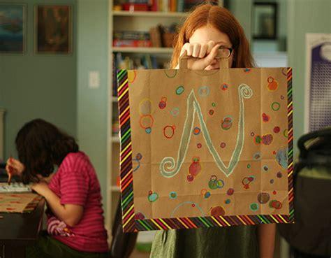 paper craft classes paper bag work portfolios make and takes