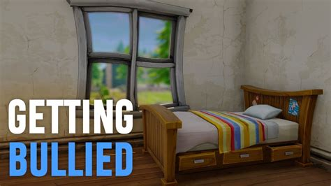 fortnite bedroom getting bullied fortnite