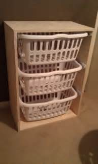 organizer your laundry area by building this easy laundry