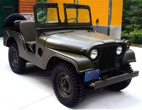 53 Willys Jeep 1953 Willys Jeep M38a1c