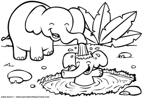 free coloring pages baby jungle animals safari animals coloring pages getcoloringpages com