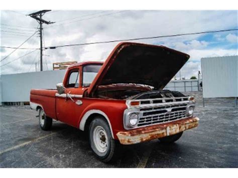 1966 Ford F100 For Sale by 1966 Ford F100 For Sale Classiccars Cc 732907