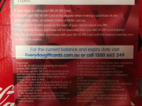 What Gift Cards Does Woolworths Sell - 10 off when you spend 100 or more on a big w gift card big w page 2 ozbargain