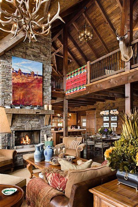 Log Homes Interior Designs by 30 Dreamy Cabin Interior Designs
