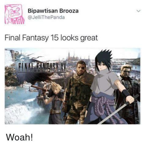 Final Fantasy Memes - 25 best memes about final fantasy 15 final fantasy 15 memes