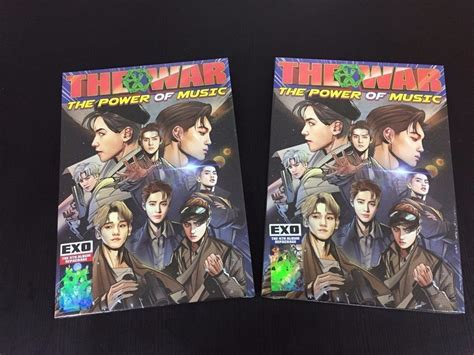 exo album power exo 4th repackage the war the power of music korean ver