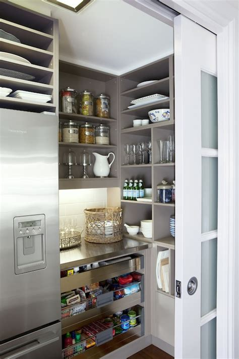 frosted pocket door contemporary kitchen  house