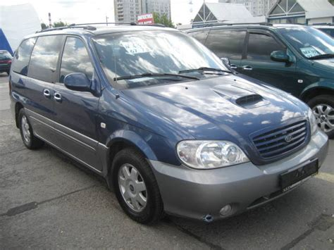 Kia 2003 Problems 2003 Kia Carnival Pictures Diesel Automatic For Sale