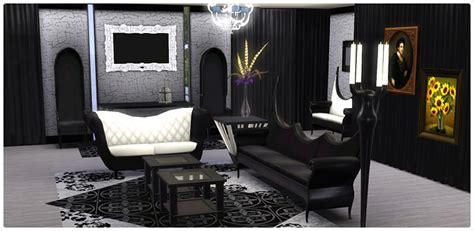 shop living room sets gothic glamour living room set store the sims 3