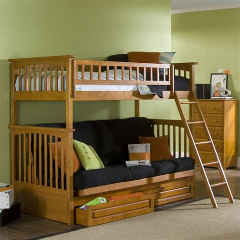 bunk bed futon wood top 15 ideas and designs for futon beds in 2014 qnud