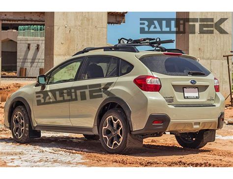 subaru crosstrek grey rally armor ur mud flaps crosstrek 2013 2017
