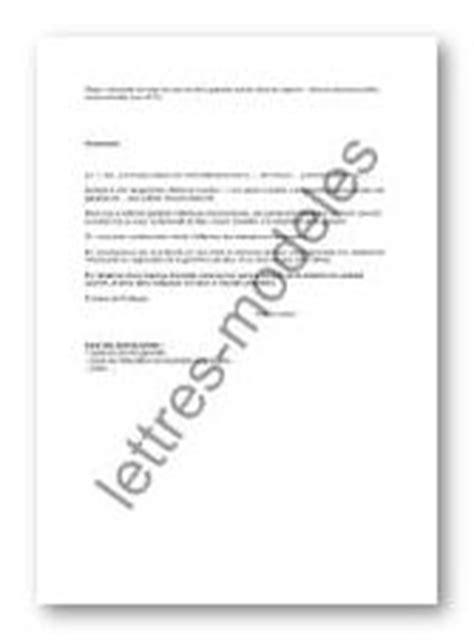 Lettre Apres Un Refus De Visa Mod 232 Le Et Exemple De Lettres Type Garantie Mise En Demeure Apr 232 S Refus De R 233 Parer
