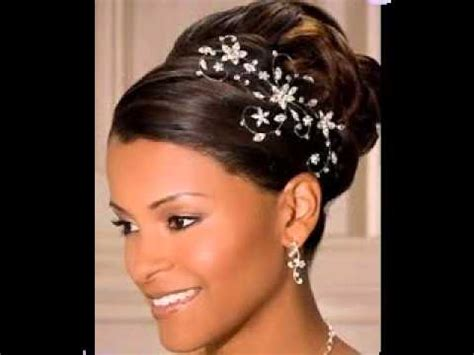 universal hairstyles black hair great african american wedding updo hairstyles ideas youtube