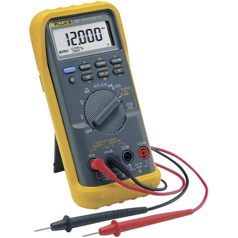 Multimeter Digital Handheld Multimeter Digital Fluke 787 Eur Calibrated To