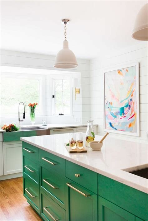 green kitchen islands 20 gorgeous kitchens with islands messagenote