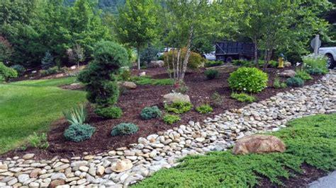 top   river rock landscaping ideas hardscape designs