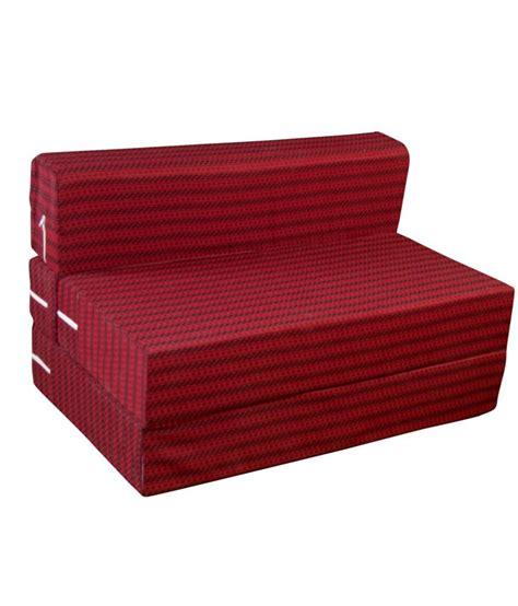 Sofa Bed Single Size Fablooms Single Size 1 Sofa Bed 72x35x8 Inches Buy Fablooms Single Size 1 Sofa Bed