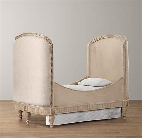 upholstered toddler bed conversion kit