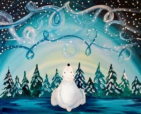 paint nite hillsboro learn to paint windy winter sky tonight at paint nite our