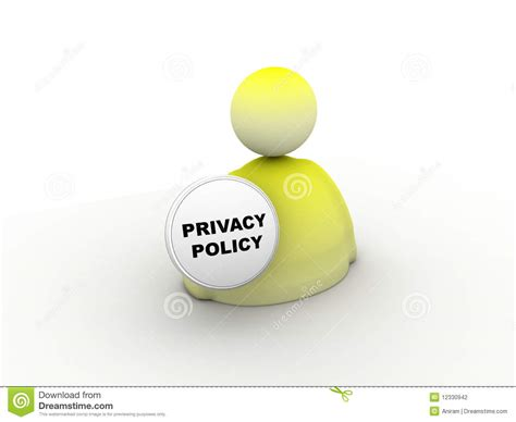 privacy policy privacy policy icon stock photography image 12330942